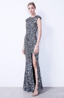 wedding photo - Hand Embellished Sequin Gown