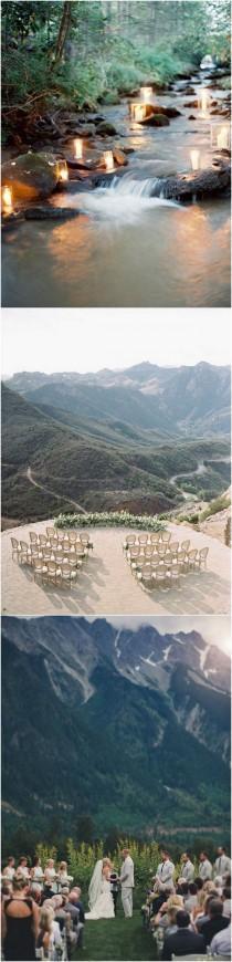 wedding photo - 20 Brilliant Ideas To Have A Mountain Wedding