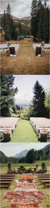 wedding photo - 20 Brilliant Ideas To Have A Mountain Wedding - Page 2 Of 2