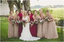 wedding photo - Antique Tea- Newport Coast Mocha with Beige Lace- Vintage Style Octopus Infinity Wrap Dress- Wedding Gown, Bridesmaids, Maternity, Etc.