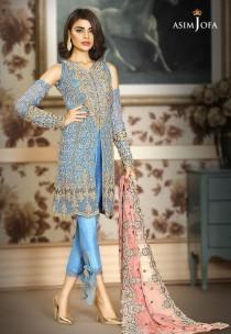 wedding photo - Asim Jofa new Mysorie chiffon collection, premium collection, shalwar kameez, pakistani clothes, indian outfits, bengali dresses