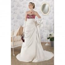 wedding photo - Point Mariage Gibraltar Point Mariage Wedding Dresses Traditionnelle - Rosy Bridesmaid Dresses