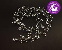 wedding photo - Moonstone hair vine,Hair Vine,Bridal Headpiece,Wedding Crown,Crystal Headpiece,Bridal Hair Vine,Bridal Hair Piece,Moonstone,Bridal Jewelry