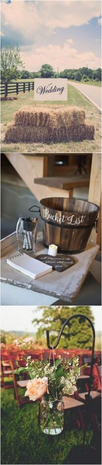 wedding photo - Trending-26 Country Rustic Farm Wedding Ideas For 2018 - Page 2 Of 4