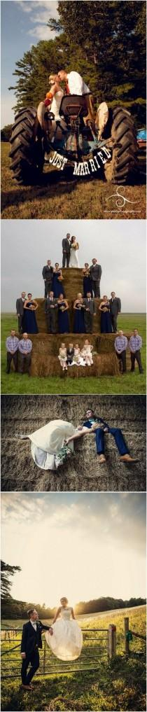 wedding photo - Trending-26 Country Rustic Farm Wedding Ideas For 2018 - Page 4 Of 4