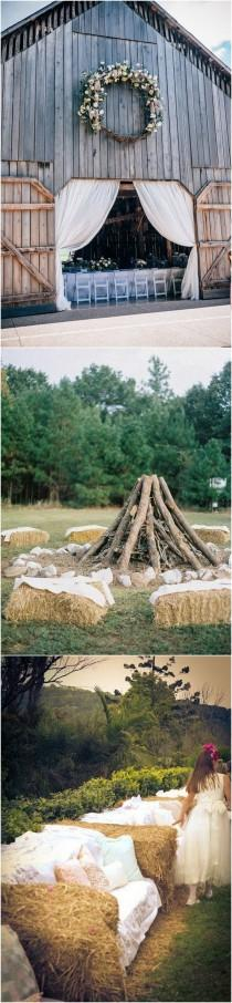wedding photo - Trending-26 Country Rustic Farm Wedding Ideas For 2018 - Page 3 Of 4