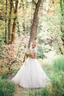 wedding photo - Modest Wedding Gowns IV