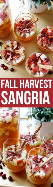 wedding photo - Fall Harvest Sangria
