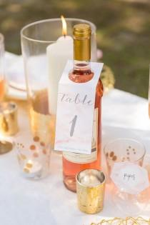 wedding photo - DIY This Pink Marble Wedding Inspiration With Cricut