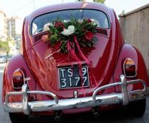 wedding photo - Wedding Car Decorations