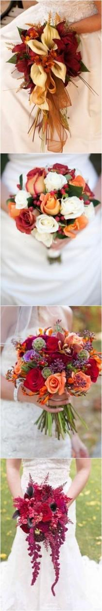 wedding photo - 50 Fall Wedding Bouquets For Autumn Brides