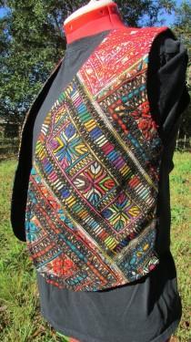 wedding photo - Banjara Vest ,  Medium Embroidered Fancy Kuchi