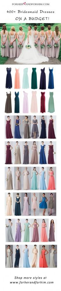 wedding photo - Bridesmaid Dress Ideas