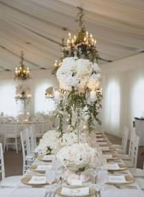 wedding photo - Wedding Table Arrangement