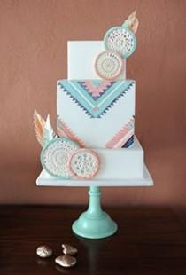 wedding photo - Multicolor Wedding Cakes Photos