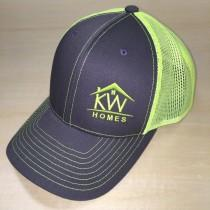 wedding photo - Monogram Richardson Hat. Richardson Mesh Cap. Monogram Cap with Mesh Backing.