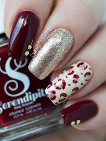wedding photo - Leopard Nails