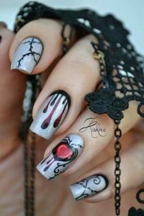 wedding photo - Halloween Nails