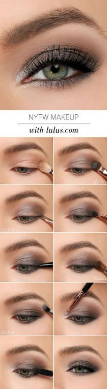 wedding photo - New York Fashion Week Eye Makeup