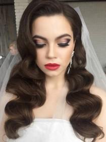 wedding photo - Long Wedding Hairstyles And Wedding Updos From Websalon Weddings