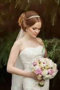 wedding photo - Wedding Hairstyle For Long Hair.