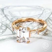 wedding photo - Emerald Cut Ring