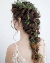 wedding photo - Frisur-Ideen Für Hochzeiten Im Herbst Und Winter
