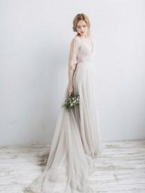 wedding photo - 12 Dreamy Wedding Dresses On Etsy