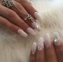 Nail mariage 12 weddbook wedding nails junglespirit Image collections