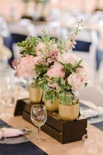 wedding photo - Mason Jar Centerpiece