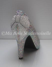 wedding photo - Ellie Pearl Bow Crystal Bridal Shoe's, Bow Bridal Shoe, Bow Wedding Shoes, Pearl Bridal Shoes, Crystal Bridal Shoes, Pearl Wedding Shoes