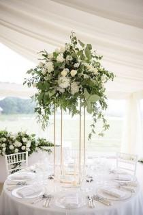 wedding photo - Eucalyptus Centerpiece
