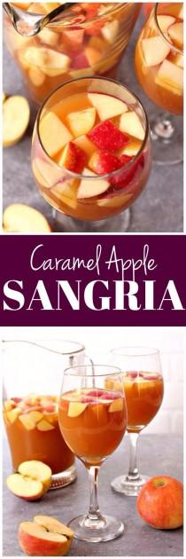 wedding photo - Caramel Apple Sangria