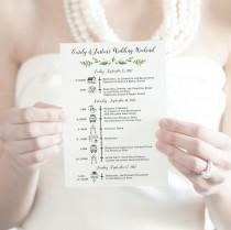 wedding photo - wedding timeline printable wedding itinerary customized wedding weekend timeline wedding weekend itinerary icon timeline destination wedding