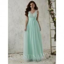 wedding photo - Christina Wu Occasions 22710 Lace Tulle Bridesmaid Gown - Brand Prom Dresses