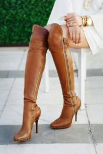 wedding photo - High Heeled Boots