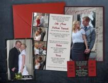 wedding photo - Classic Photo Wedding Invite, Customized