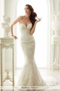 wedding photo - 2015 Sophia Tolli Bridal