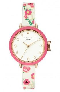 wedding photo - Park Row Silicone Strap Watch, 34mm