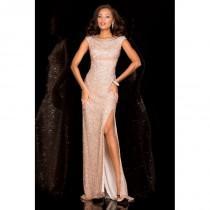 wedding photo - Scala Prom Style 48410 BLUSH -  Designer Wedding Dresses