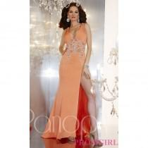 wedding photo - Full Length V-Neck Gown by Panoply - Brand Prom Dresses
