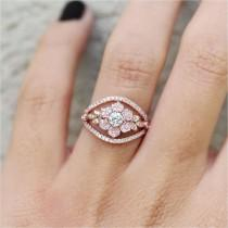 wedding photo - Night Before Christmas Engagement Ring Inspiration