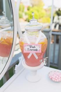 wedding photo - How To Have The Prettiest Pinkest Bridal Shower