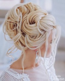wedding photo - 60 Elstile Wedding Updos Hairstyles You'll Love