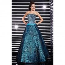 wedding photo - Fuchsia/Black Studio 17 12311 - Ball Gowns Sequin Corset Back Dress - Customize Your Prom Dress