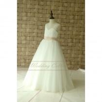 wedding photo - Grey color dress with black waistband - Hand-made Beautiful Dresses