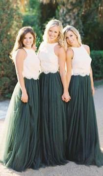wedding photo - Teal Bridesmaid Dress