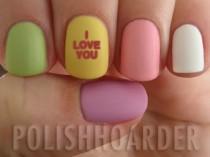 wedding photo - Colorful Pastel Nails