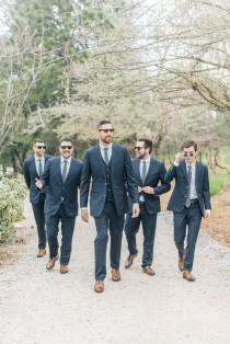 wedding photo - Union Hill Spring Wedding With Sweet Blooms Galore