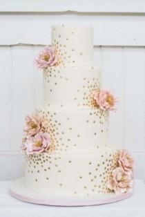wedding photo - Floral Cake